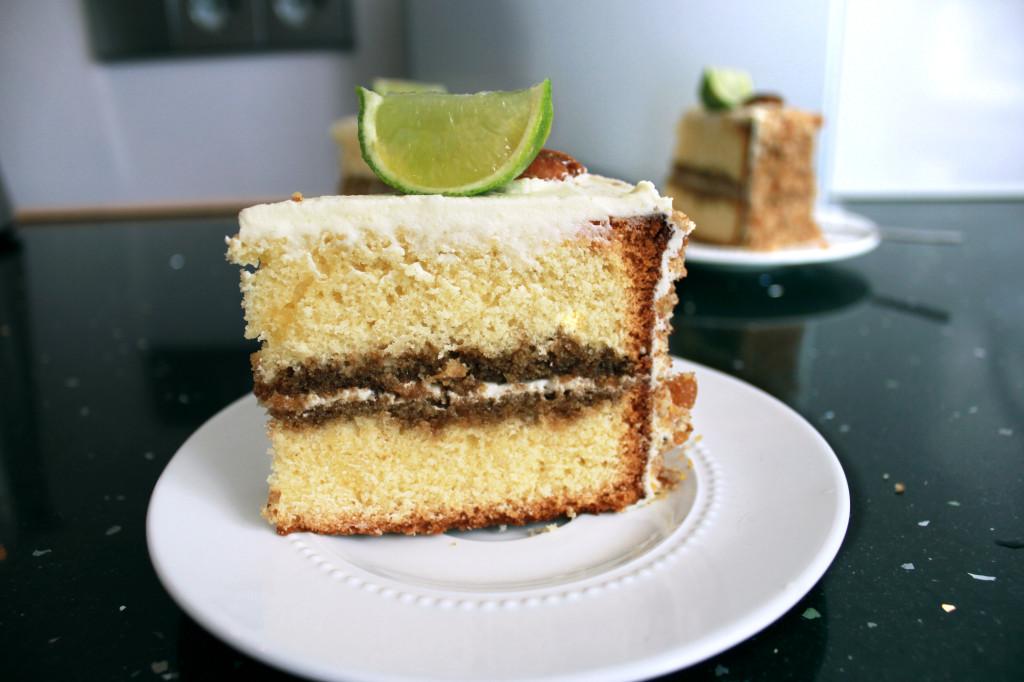 Mojito Genoise taart - Zoetrecepten