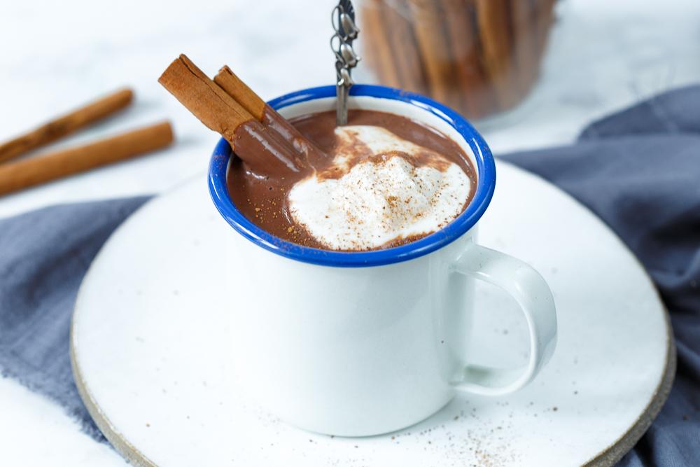 Heerlijke creamy chocolademelk