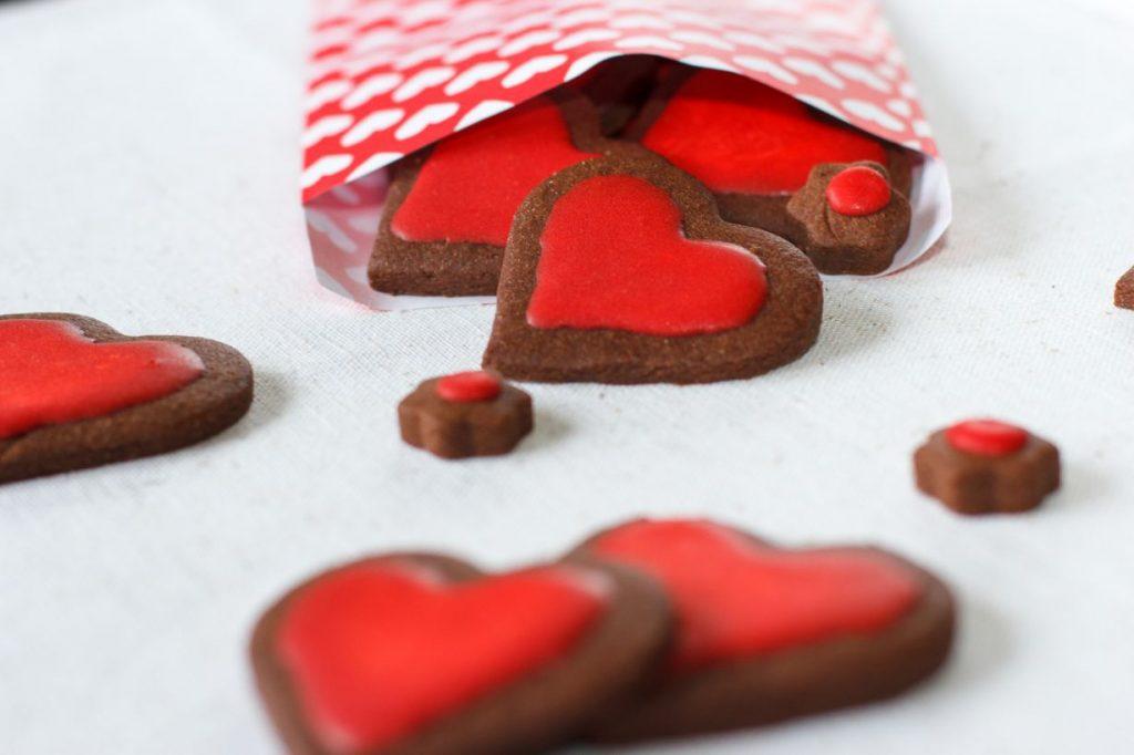 Valentijnsdag: koekjes met glazuur