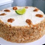 Mojito Genoise taart