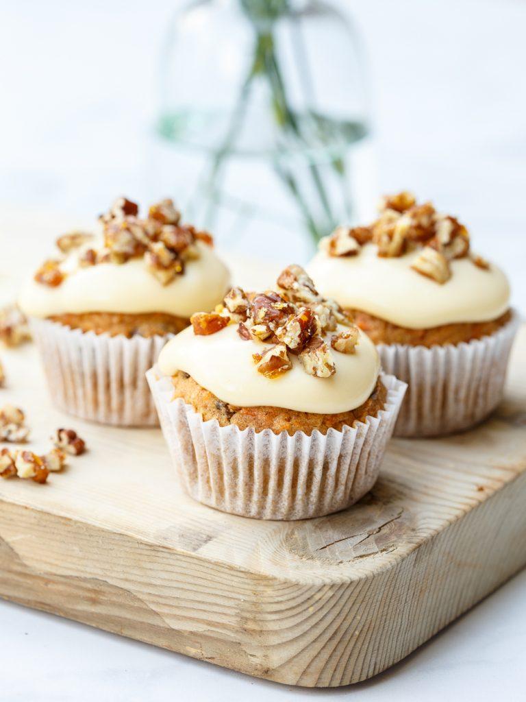 perfecte carrot cake muffins