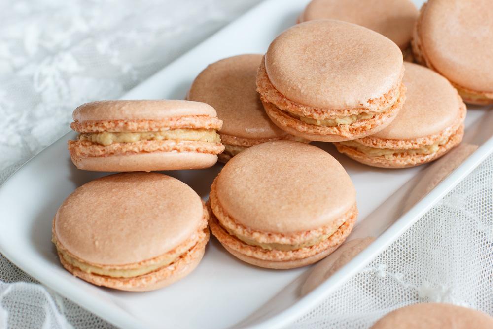 Goddelijke macarons met salted caramel (lactosevrij!)
