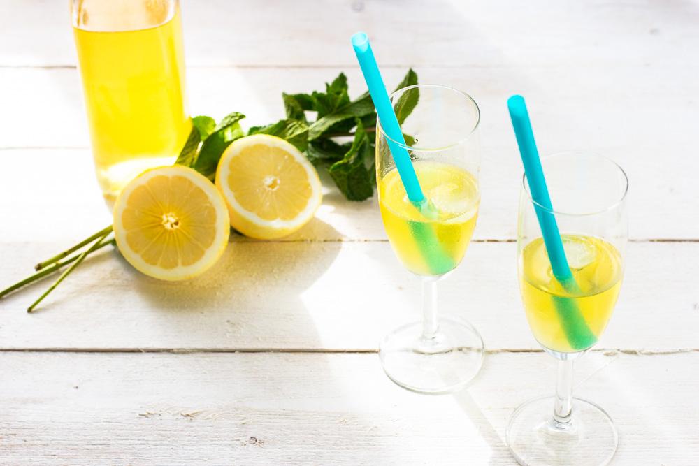 Zomerse limoncello