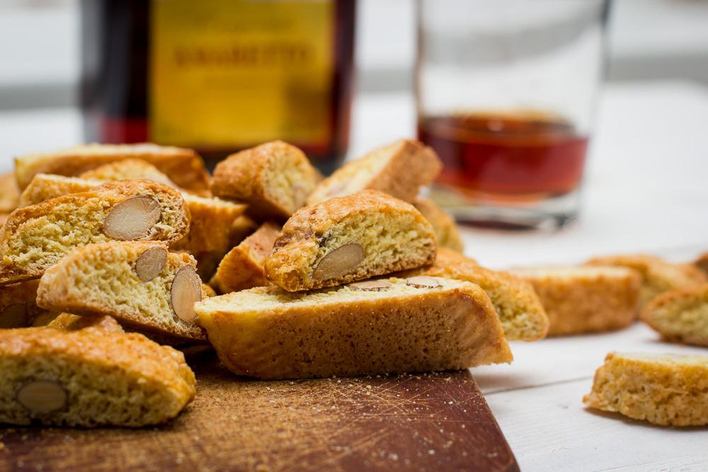 Italiaanse amandelkoekjes: cantuccini's