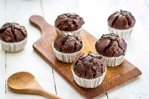 Basisrecept: chocolade muffins