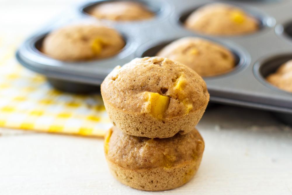 Low-calorie mangomuffins