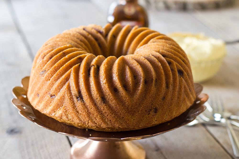 Sinaasappelcake in een Nordic Ware tulband