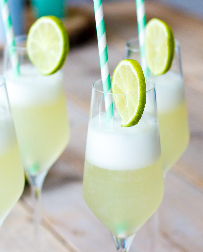 Easy sgroppino met citroensorbetijs