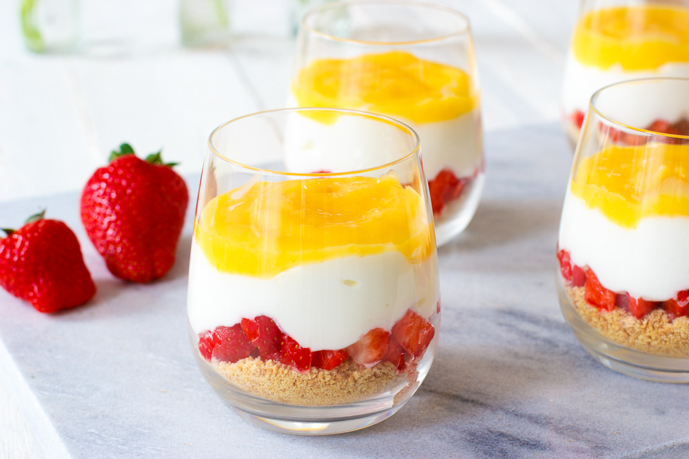 fruit dessert recept