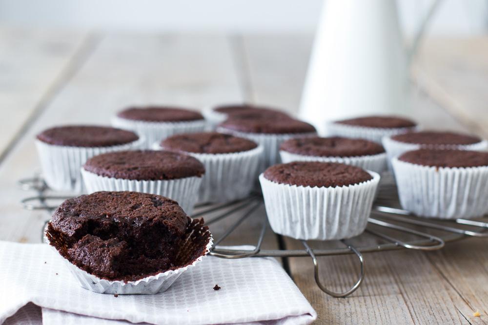 Basisrecept: de beste chocolade cupcakes