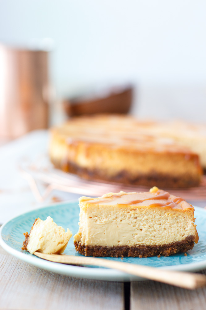 cheesecake caramel recept