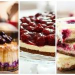 Weekend inspiratie: cheesecakes