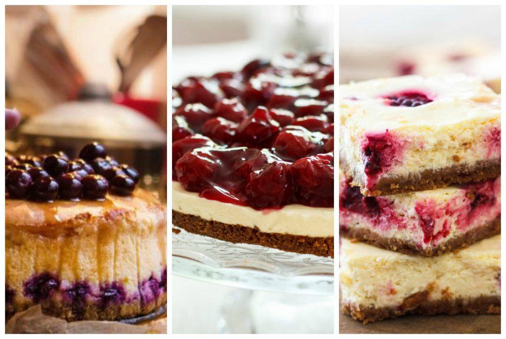 Weekend inspiratie: cheesecakes
