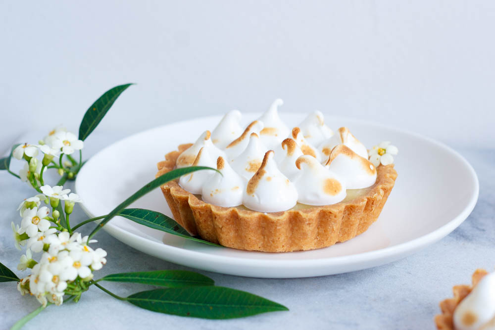 Lemon meringue taartjes