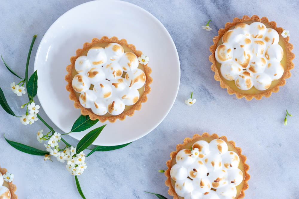 Lemon meringue taartjes