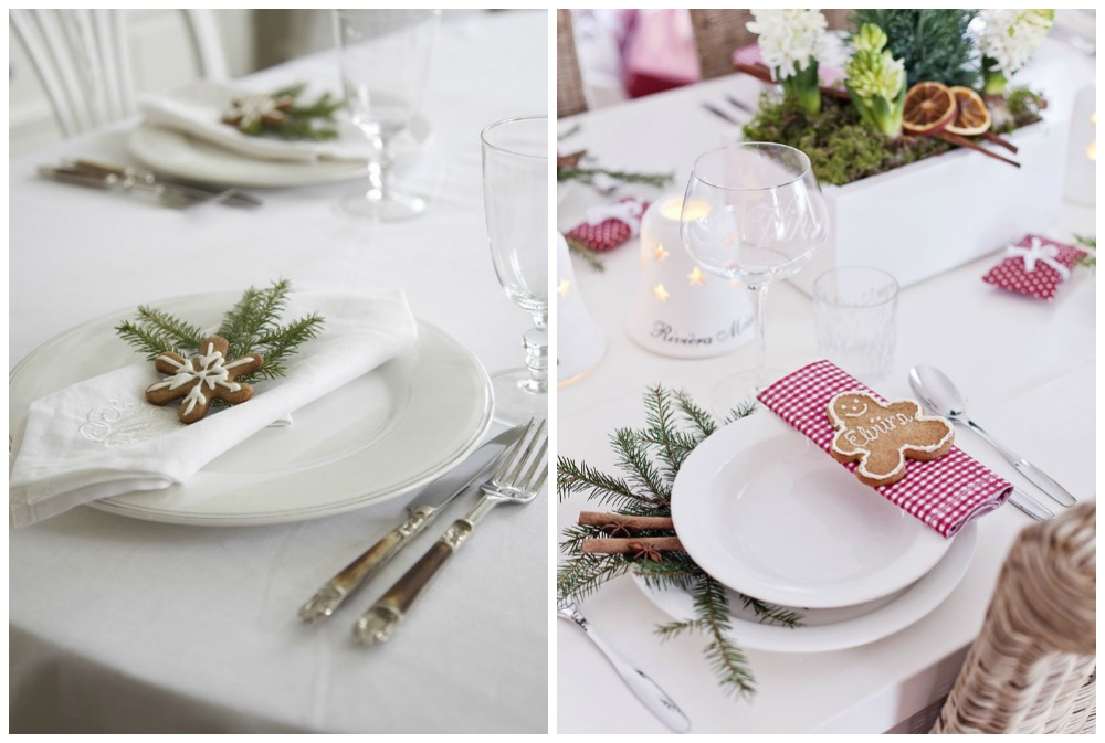 Weekend inspiratie kersttafel decoratie zoetrecepten