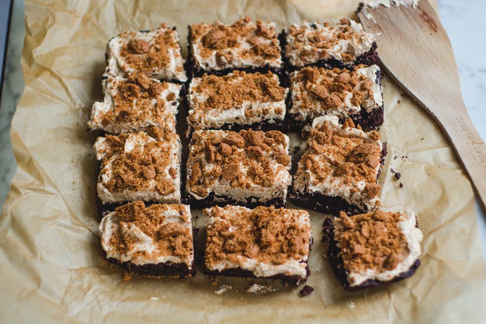 Speculoos brownies