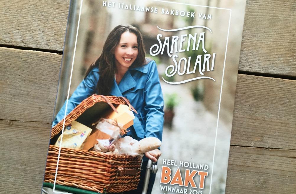 Het Italiaanse bakboek van Sarena Solari – WINNEN!