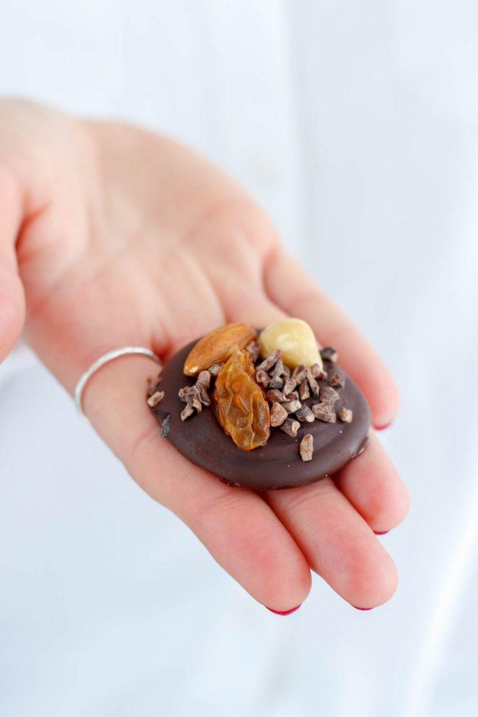 easy notenchocolaatjes