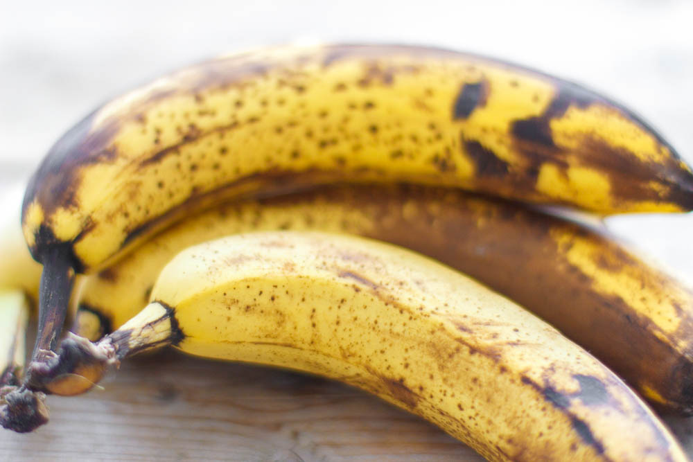 Leftover bananen