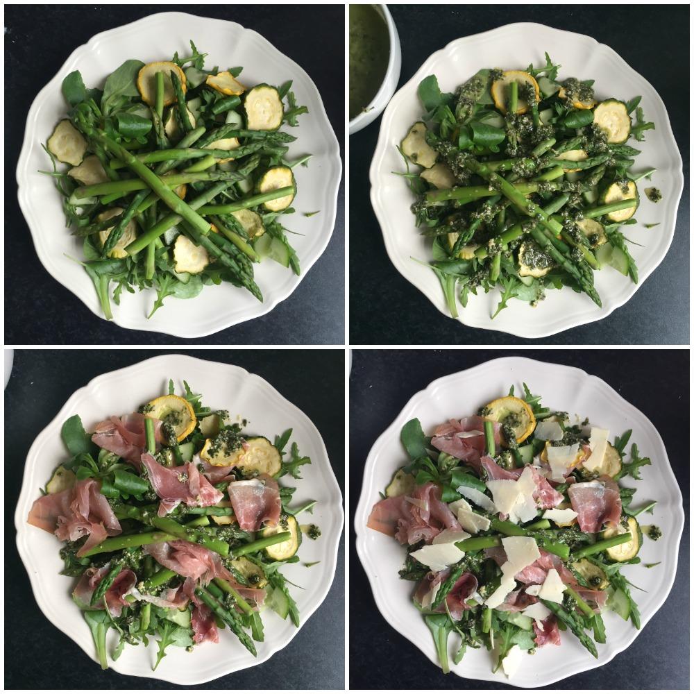 pesto salade