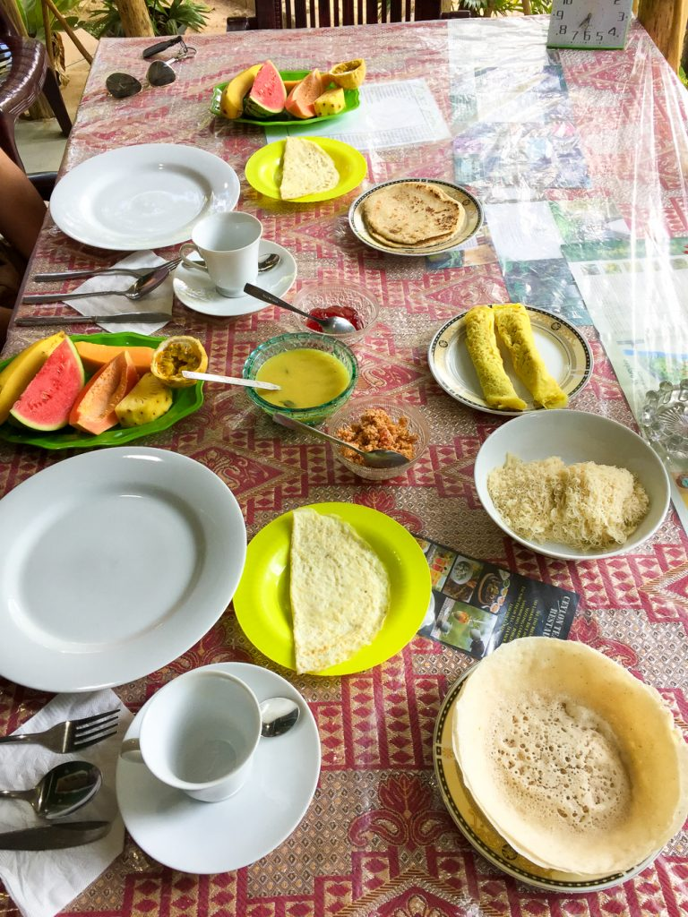 Mega uitgebreid ontbijt