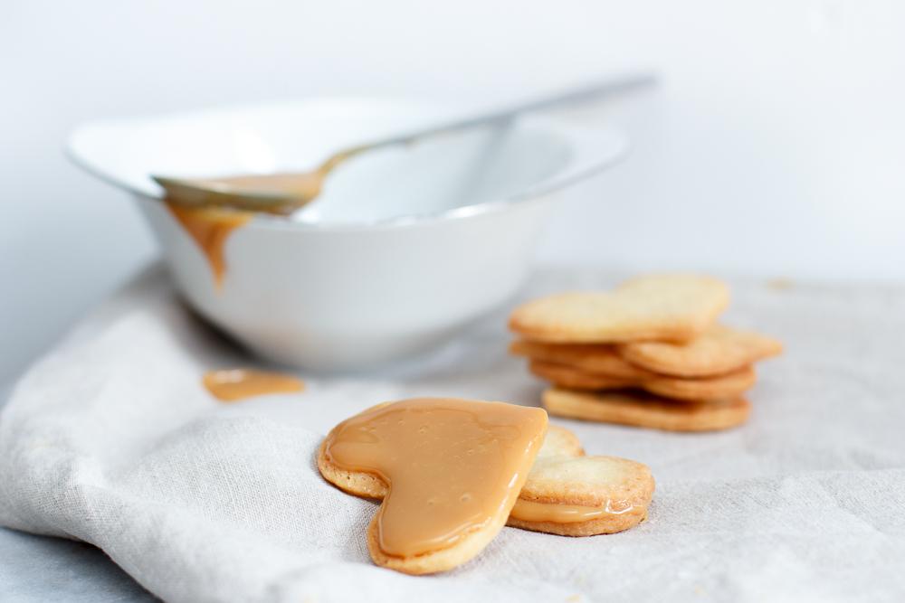 Karamel sandwich koekjes