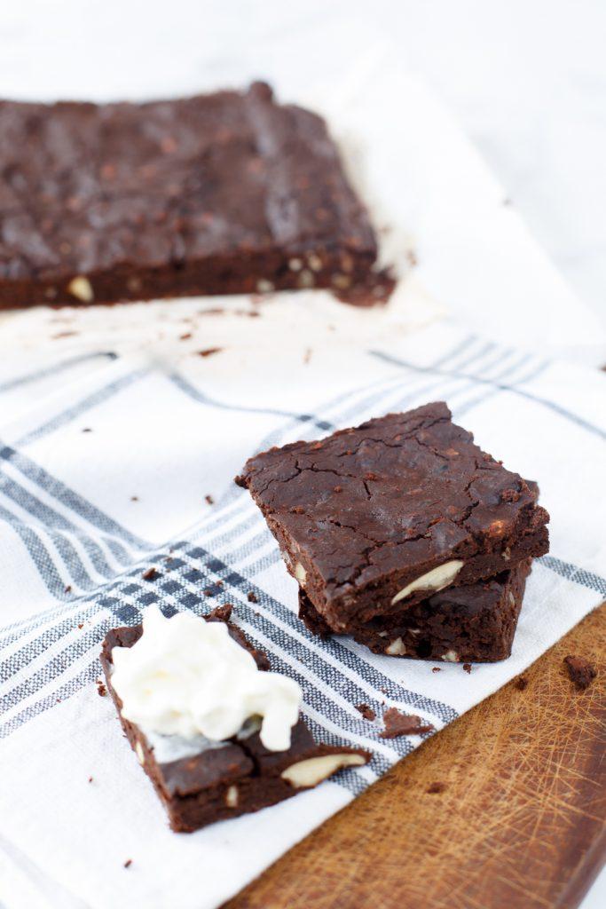 Bruine bonen brownies
