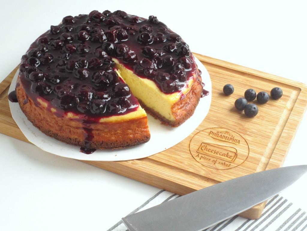 Winnaar Philadelphia cheesecake challenge