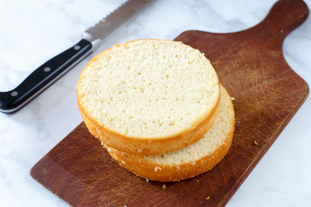 Basisrecept: witte cake