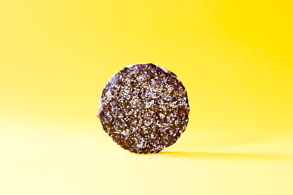 Chocolade rijstwafels