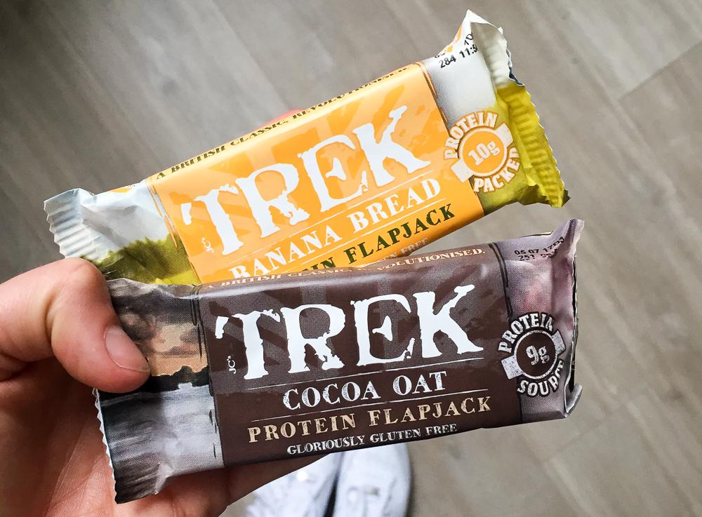 TREK proteïne flapjacks