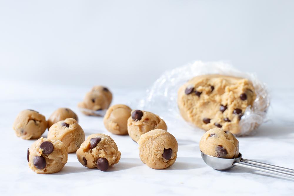 Het lekkerste rauwe cookie dough