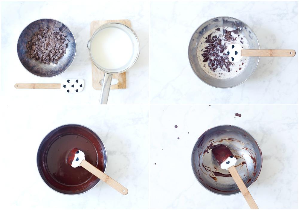 zo maak je chocolade ganache