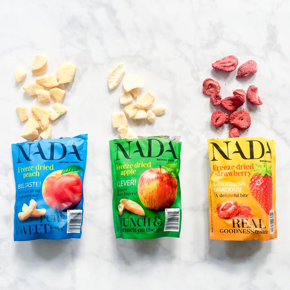 NADA gedroogd fruit