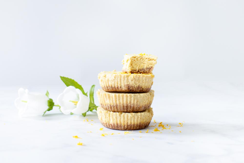 Mini vegan sinaasappeltaartjes