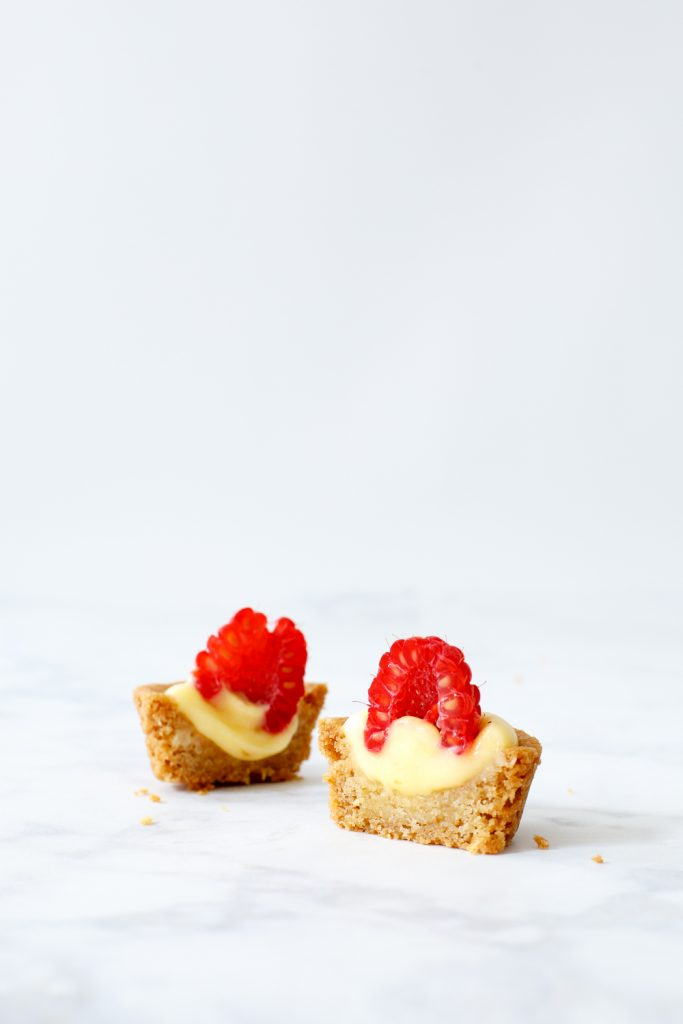 Mini lemon curd slofjes