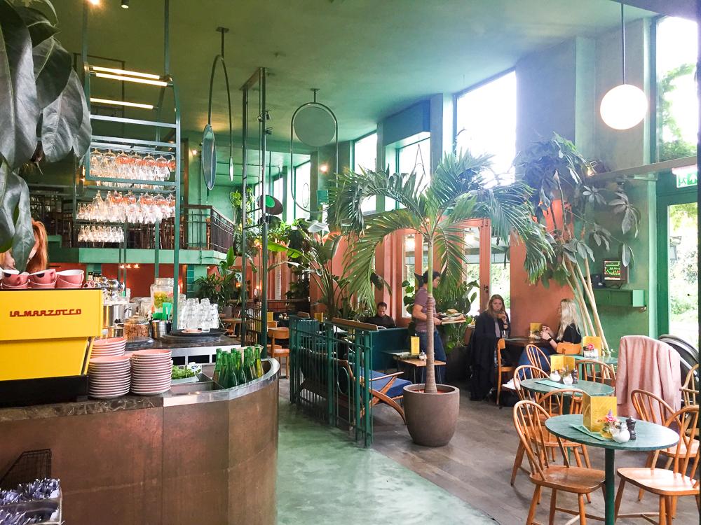 Bar Botanique Amsterdam lunch