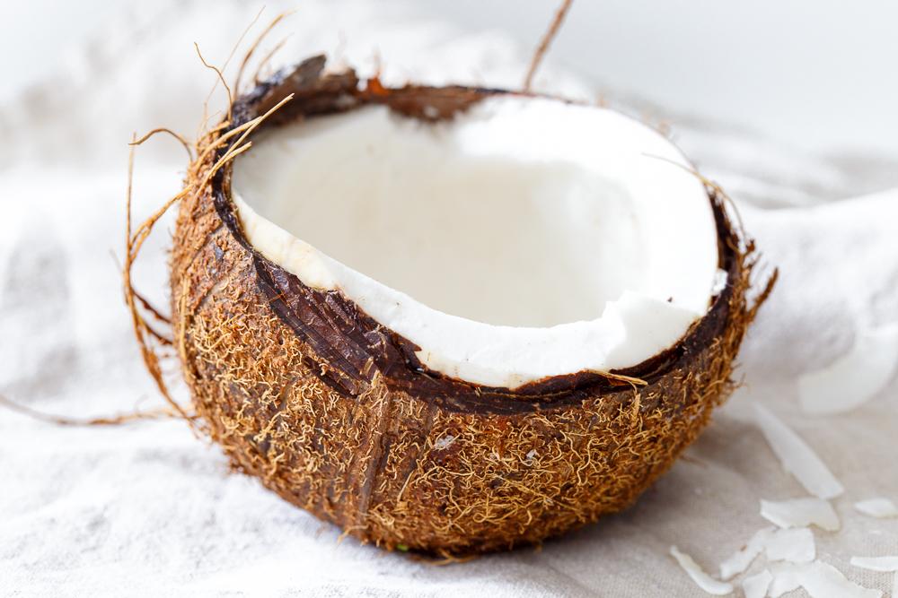 Bakken met kokosmeel