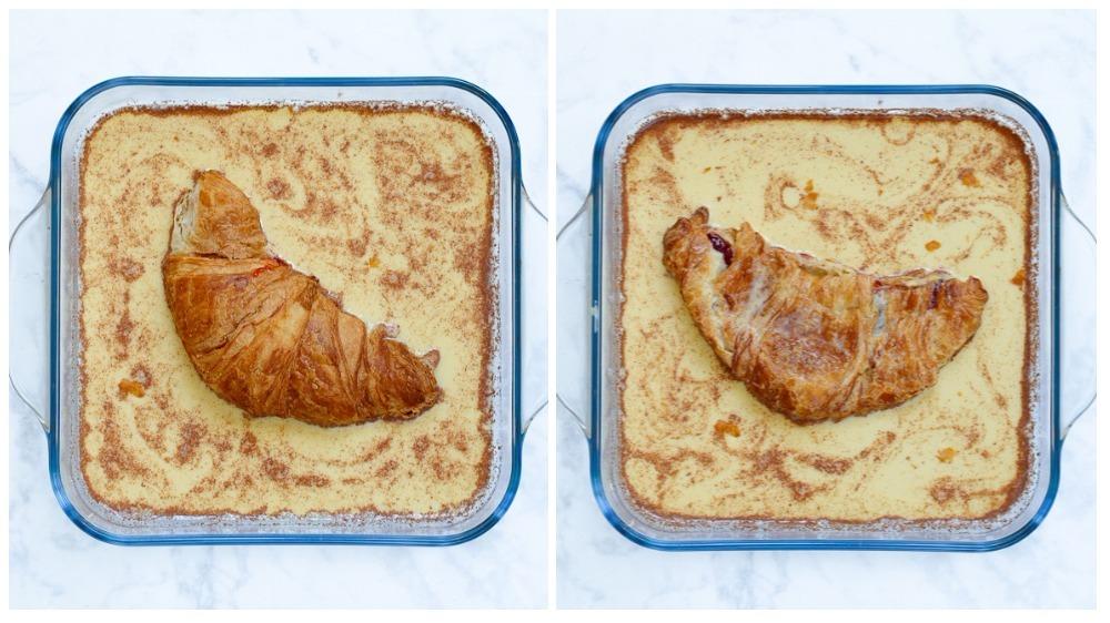 Croissant wentelteefjes