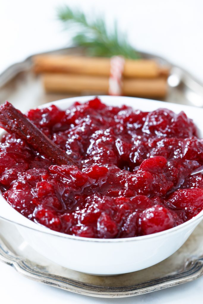 De lekkerste cranberry compôte