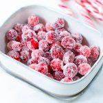Zo maak je gesuikerde cranberry's