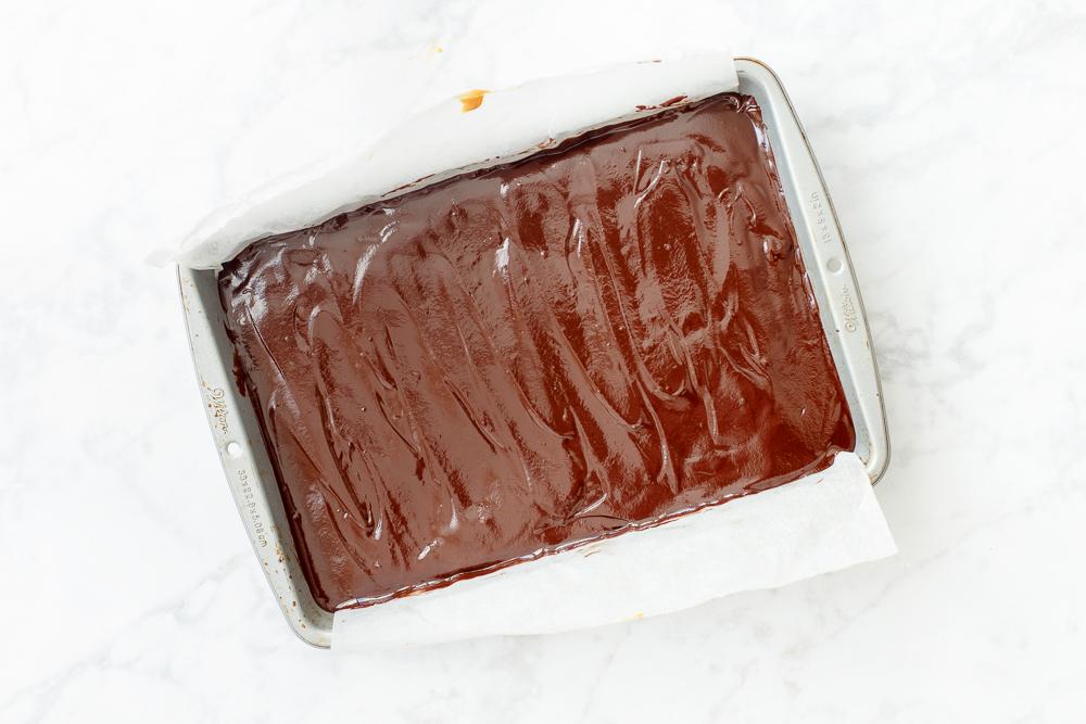 Bakken met chocolade