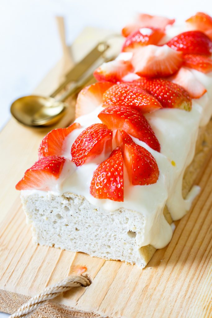 Suikervrije angel food cake