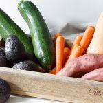 Bakken met groenten