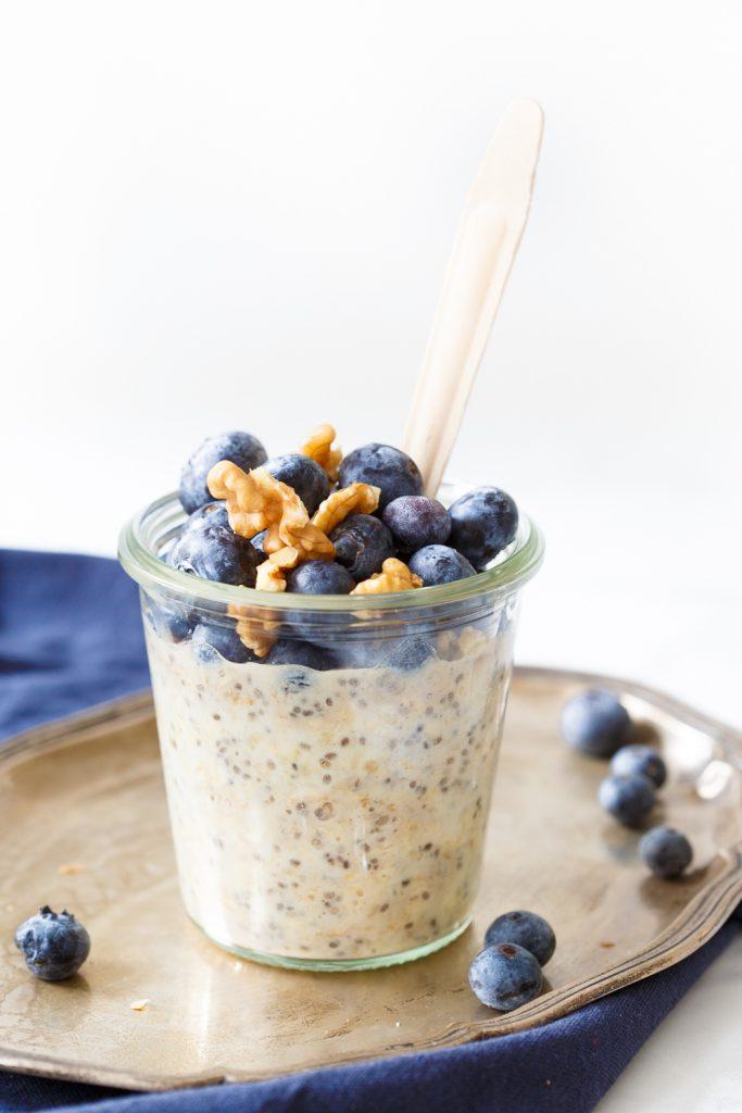 Basisrecept overnight oats