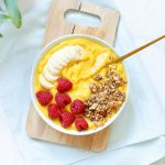Mango nicecream bowl