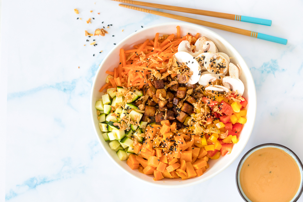 Tofu Soy Joy van Poké Perfect