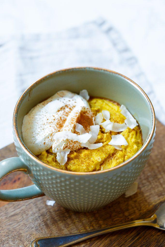 mango mugcake