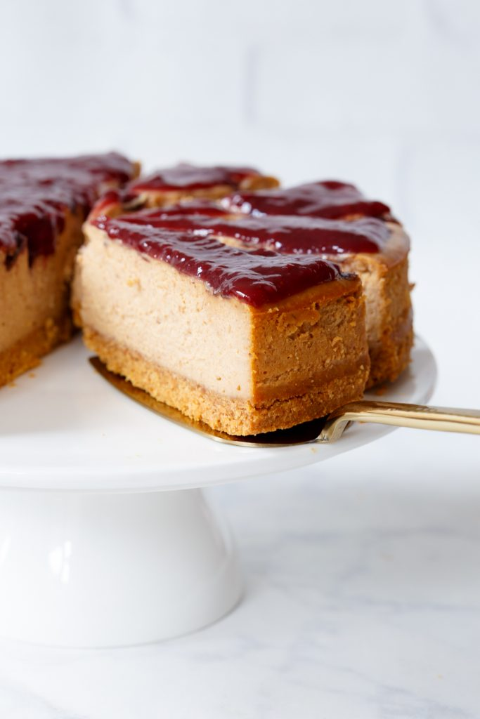 Peanutbutter jelly cheesecake